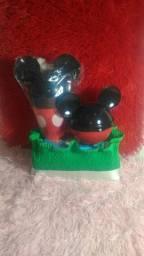 Kit Mickey e minie + sabonete