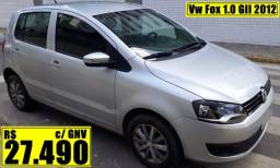Vw Fox 1.0 GII 2012 com gás natural veicular