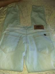 calça masculina jeans claro
