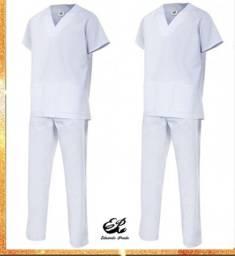 Kit 2 Pijamas Cirúrgico Unissex