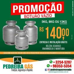 Botijao Na Promoção e Entrega e Instalação Grátis Em toda Belem e Ananindeua