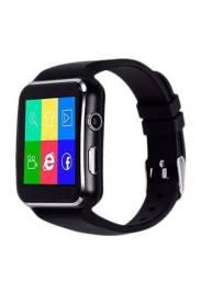 Relógio smartwatch chip e câmera