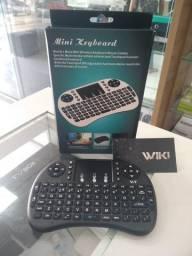 Mini Teclado S/ Luz Touch Sem Fio Air Wireless Smart Tv-(Loja Wiki)