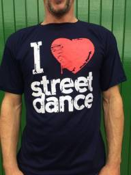 Camiseta I Love Street Dance