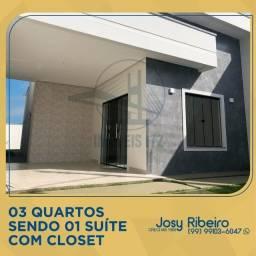 Casas prontas com ótimo acabamento próximas da Pedro Neiva