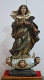 Nossa Senhora da Conceição imagem barroca antiga