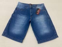 Bermudas jeans e de sarja