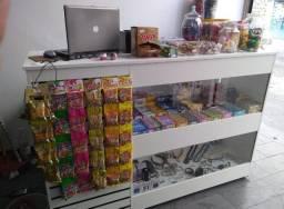Balcão Vitrine com Vidro para loja de Pet Shop com Frete Grátis Direto da Fabrica.