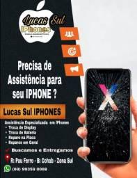 Assistência técnica para iPhones !!!