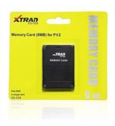 Cartão Memory Card Play 2 8mb