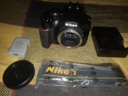 <br><br>Câmera Nikon D3400, Produto Novo, Nunca Foi Usado