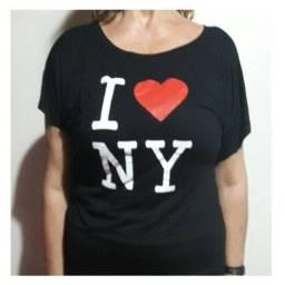Blusa Feminina I Love Ny (nova York)