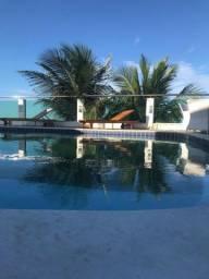 Bela Casa próxima ao mar e com linda vista para a Praia de Ponta Negra.