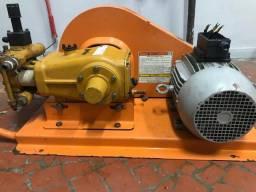 Lavadora de média pressão 500 libras 7.5 hp trifásica com motor LAV750
