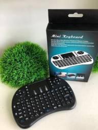 Mini Teclado Wireless Touch Pad Celular Pc Android Tv Smart-(Loja Wiki)