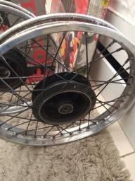 Par de aro roda traseira e dianteira