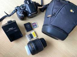 Kit de Câmera Profissional Nikon 5100