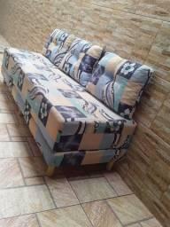 Sofa cama semi novo