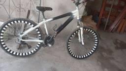 Bicicleta de alumínio a freio a disco