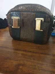 Bolsa couro Saad original