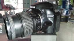 Nikon D3200 Dslr Cor Preto com 50k
