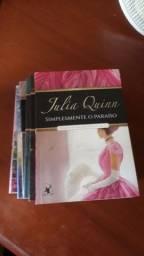 6 livros Júlia quin