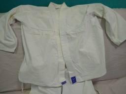 Kimono branco karate torah