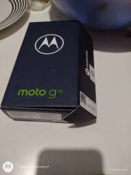 Moto g 10 1 mês de comprado 1.100 tem conversa