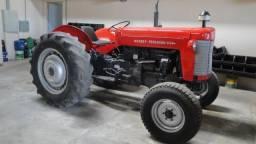 Trator MF 55X/1976 + Roçadeira
