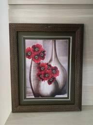 Quadro Vasos de flores 60x45