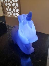 Luminaria unicornio