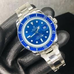 Rolex  submariner azul/prata