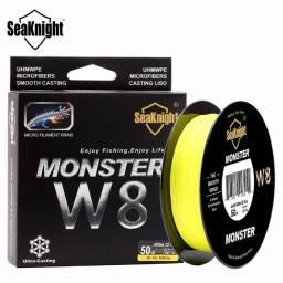 500m Linha Multifilamento Seaknight Monster W8