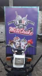 Triciclo de milk shake profissional