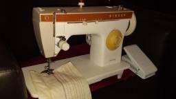 Máquina costura antiga singer zig zag