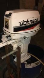 Motor Johnson 25 hp, 2 tempos