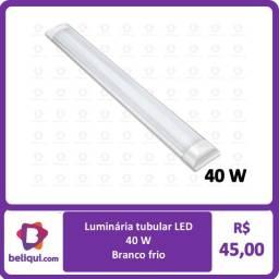 Luminária tubular LED 40 W