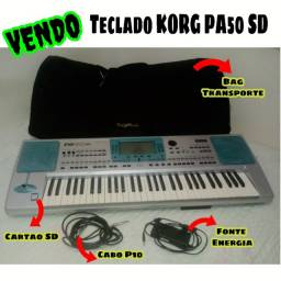 Vendo ou troco teclado Korg Pa50 SD