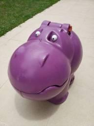 Hipopótamo Baú Xalingo Infantil para armazenar