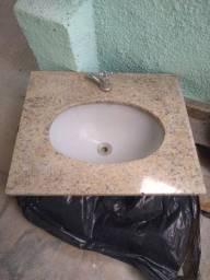 Pia de mármore 53 x 63