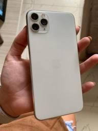 iPhone 11 Pro Max Prata 64GB - Garntia e Nota Fiscal - Tudo OK - Desbloqueado