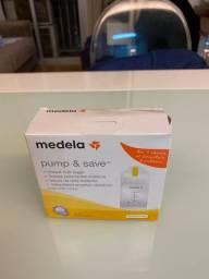 Sacos Medela Pump & Save NOVO! 20 unidades