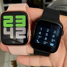 Relógio Inteligente Smartwatch iwo 8 lite X8 + fone bluetooth Lançamento