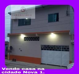 Vendo casa no bairro Cidade Nova 1