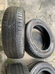 Vendo 4 pneus semi novos bridgestone aro 15