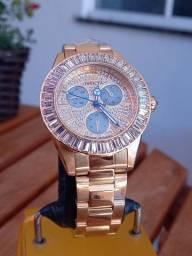 Relógio Feminino Invicta Angel Gold