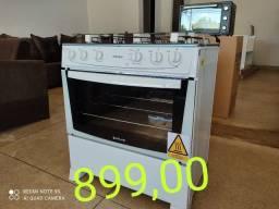 Super oferta!! Fogão 5 bcs excelente forno