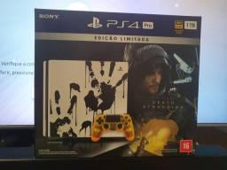 PS4 Pro Edição Death Stranding 7214b