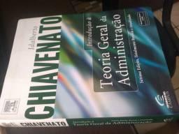Livro Introdução a teoria geral da administração de Idalberto Chiavenato