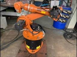 Robô Kuka KR 16 ? ano 2008 ? comando KRC2 ? alcance 1600mm ? capacidade 16 kg